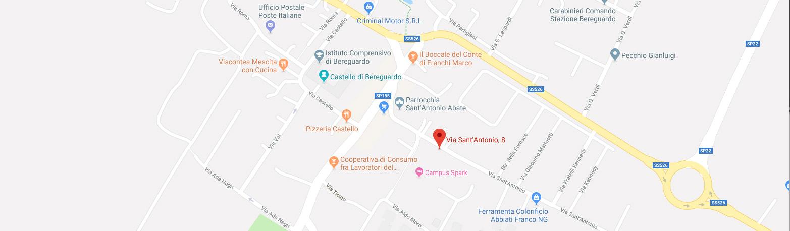 Mappa Localcare